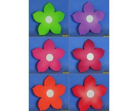 Zestaw Kwiatów (Lilia) - 6 Sztuk ! Kwiaty, Dekoracje Do Przedszkola,Pokój Dziecięcy - ARQ - DECOR | Pracowania Dekoracji ARQ DECOR