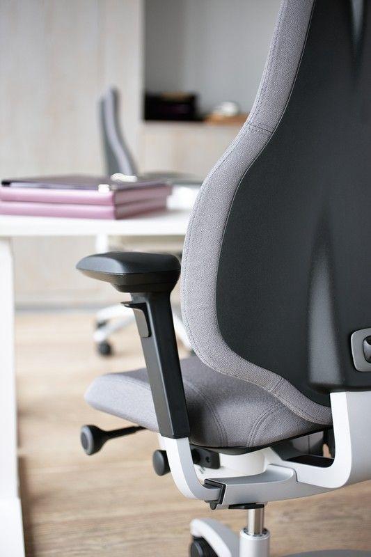 Uncompromising ergonomics combined with innovation and design #design #Scandinavian #InspireGreatWork #ergonomics #chair #office