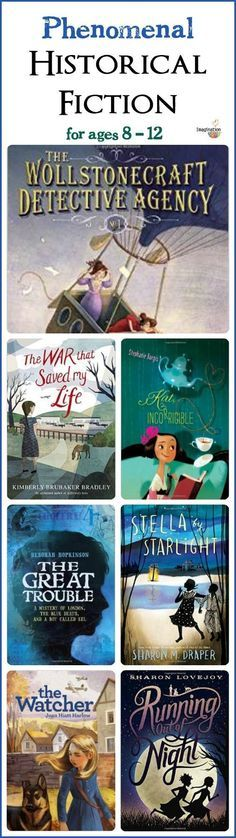 heart-tugging, can't-stop-reading, phenomenal historical fiction middle grade books!! LOVE these!