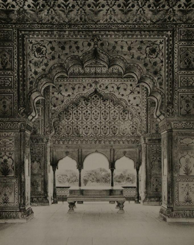 Lal Qila, Interior