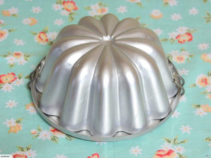Retro / Vintage Aluminum Jelly Mould | Trade Me