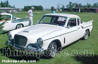 1960 Studebaker Hawk, front viewCars