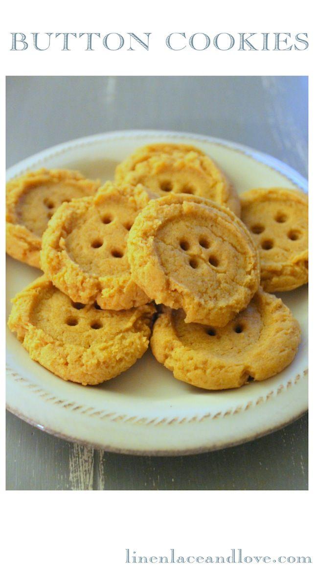 Linen, Lace, & Love: Peanut Butter Button CookiesButtons Cookies, Peanut Buttons, Cookies Baking, Cookies Recipe, Peanut Butter Cookies, Cookies Perfect, Butter Buttons, Cookies Blog, Baby Shower