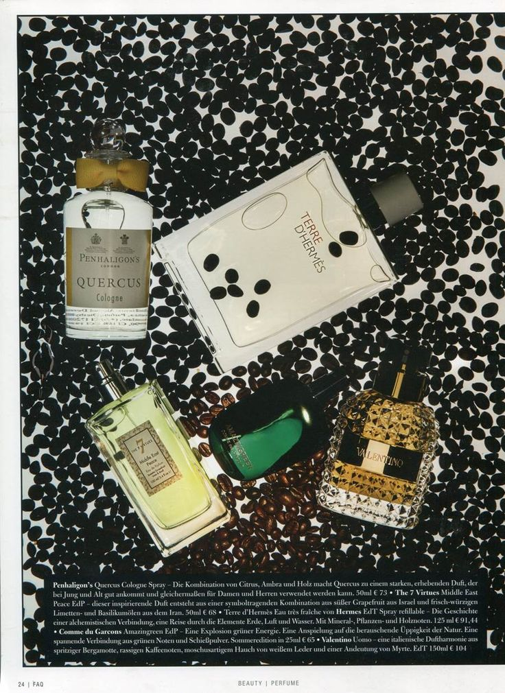 Our Middle East Peace fragrance featured in Germany's Arts & Culture Magazine FAQ #Rebuild