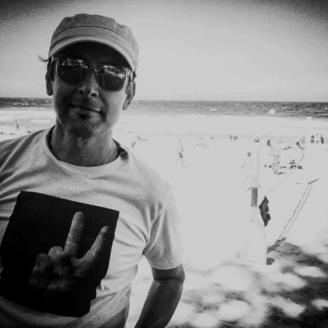 Raj Suri at Manly Beach, Sydney, Australia - Christmas Day 2016