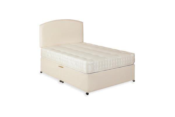 "4ft 6"" Washington Double Divan Bed & Mattress Set"