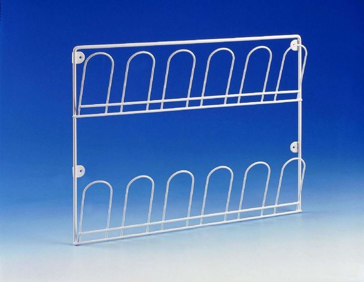 Picture of Harvey White Wall Mounted Shoe Rack
