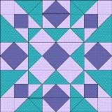 Quilt Blocks of the States - South Carolina instructions 12 inch block