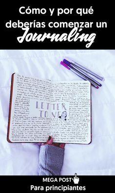 ¿Cómo y por qué deberías iniciarte en el journaling elements? Journaling es una forma de decirle al diario de toda la vida, pero más profundo y con actividades que tienen la intención de ayudarte a que te conozcas a ti misma y tomes decisiones conscientes.