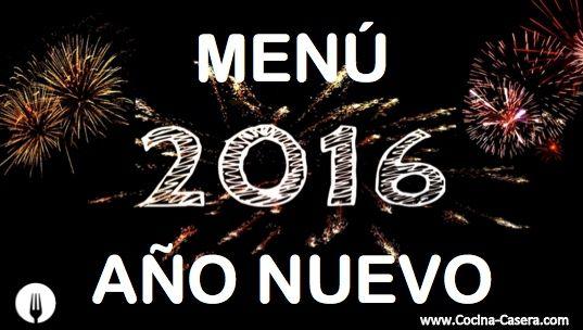 Menú para Año Nuevo   Recetas de Cocina Casera - Recetas fáciles y sencillas