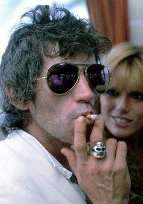 Keith Richards; captured by Denis O'Regan (1982)
