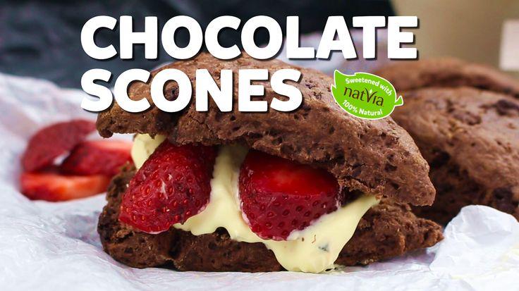 Healthy Chocolate Chip Scones - Natvia.com