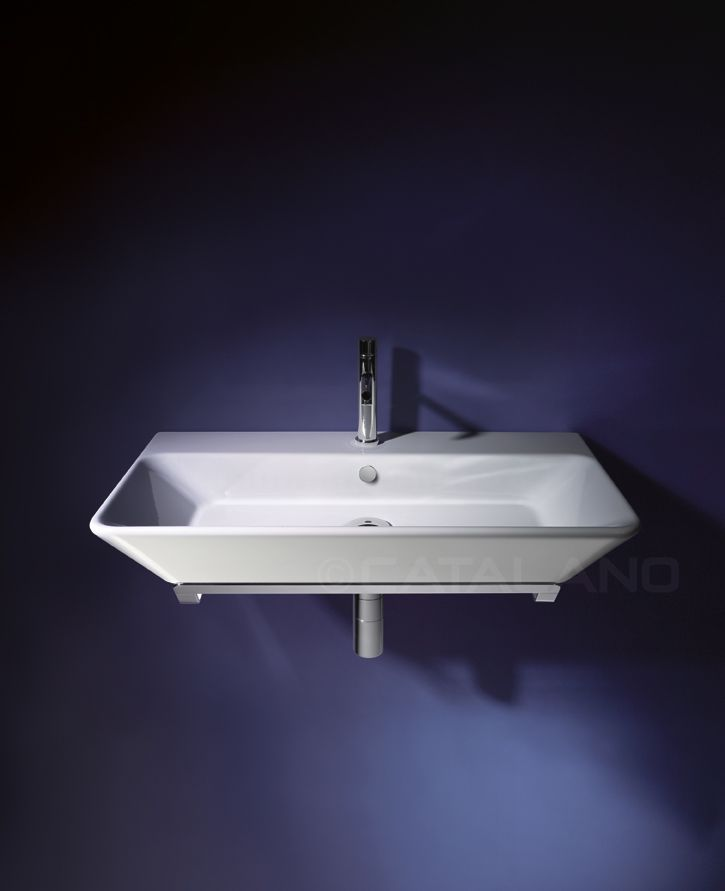 Proiezioni 80_  Washbasin 0, 1 or 3 tapholes. For wall-hung or sit on installation.