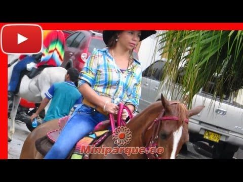 Espectacular desfuile con bellas chicas horse cabalgata sevilla valle 2016 video HD 115