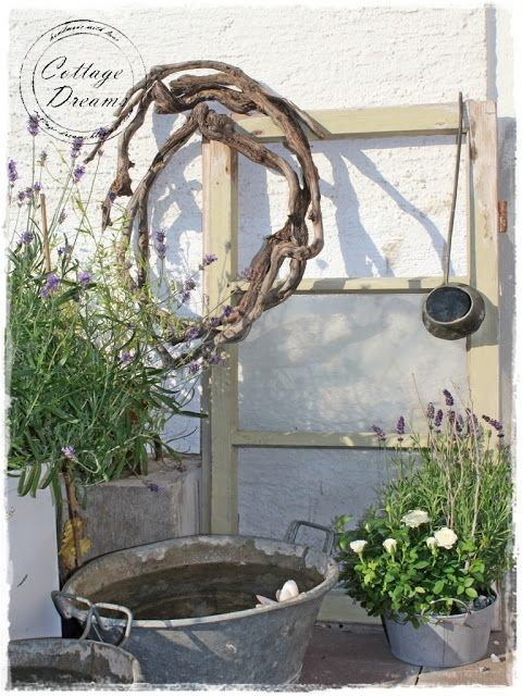 Cottage Dreams: Vintage Tub~❥