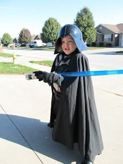 DIY Project Crazy: Home Made Darth Vader Costume: