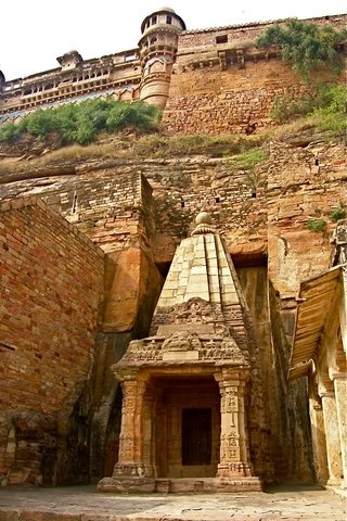 """There has been no more revolutionary contribution than the one which the Hindus (Indians) made when they invented ZERO.""  Lancelot Hogben. Located in this ancient Hindu rock temple are the oldest notes on the creation of the number Zero in India."