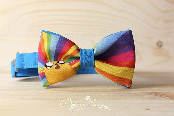 Jake the Dog Adventure Time Bowtie Bowties, Bows, Bow Ties, Bowties, Bow Ties, Bow Ties, BowTie, Creative bow tie, Funny bow tie