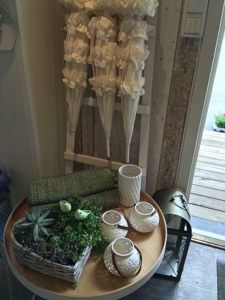Interiør og blomster