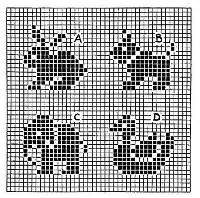 Bedtime Story Afghan Pattern | Free Knitting Patterns -- nice cross stitch pattern too