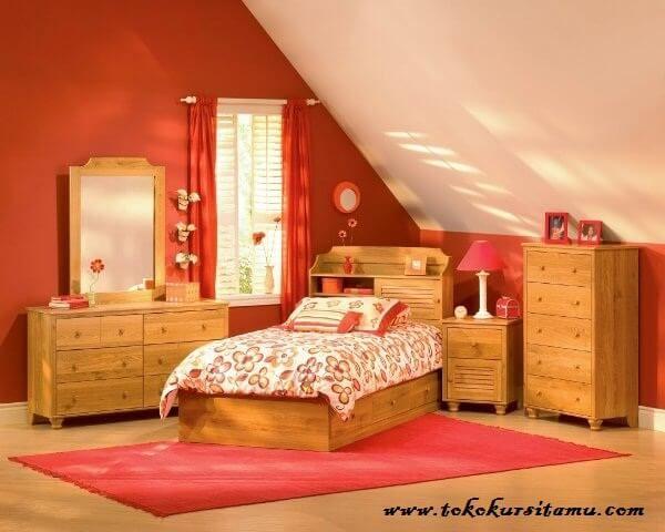 Tempat Tidur Anak Minimalis Modern TTA-006, tempat tidur anak, tempat tidur sorong, tempat tidur minimalis, tepat tidur jepara, tempat tidur murah,