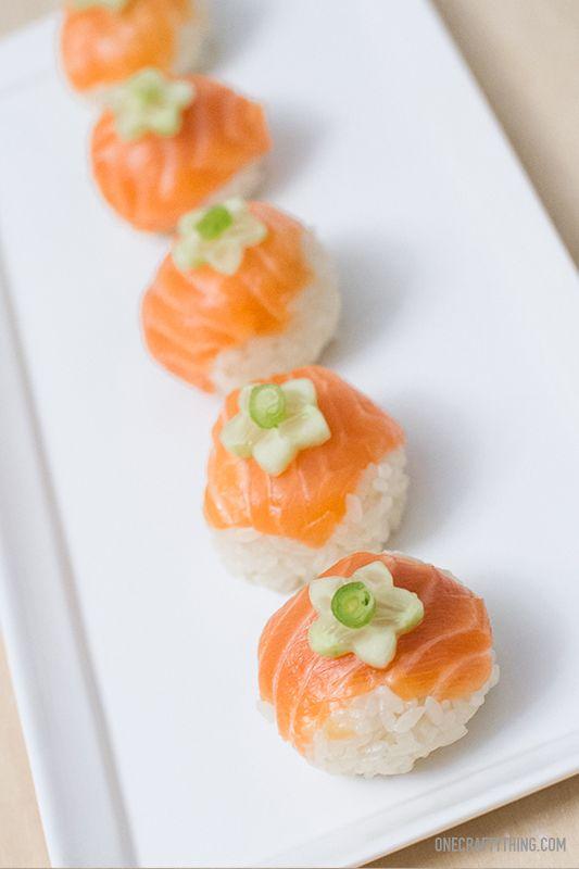 Temarizushi - easy little round sushi balls