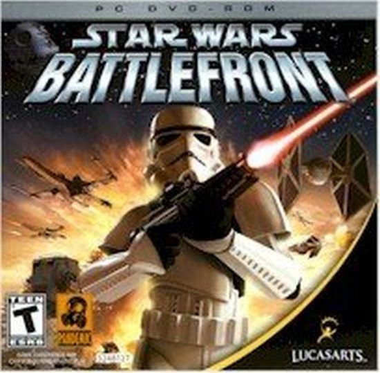 Star Wars Battlefront (PC, 2004) Jewel Case Like New