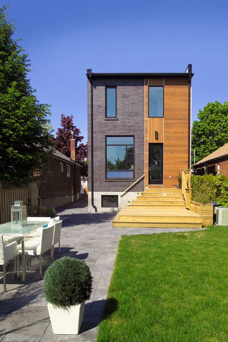Stunning modern home in East York. The blend of new in this established area is a win win.