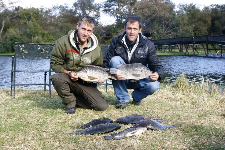 Nathan Webb and friend after a great fishing experience! wow!