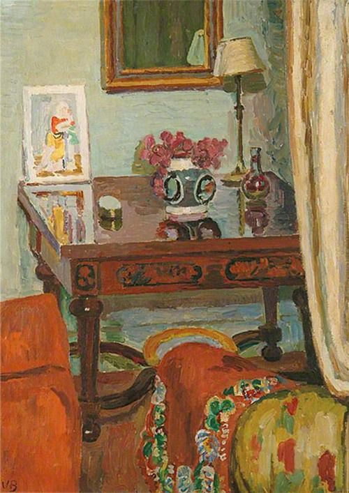 ◇ Artful Interiors ◇ paintings of beautiful rooms - Vanessa Bell