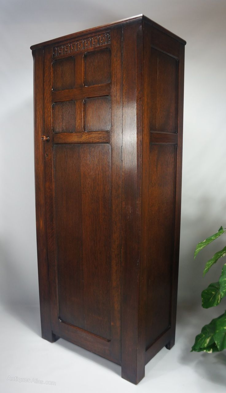 Antique arts and crafts furniture - Arts Crafts Hall Robe Wardrobe Antiques Atlas