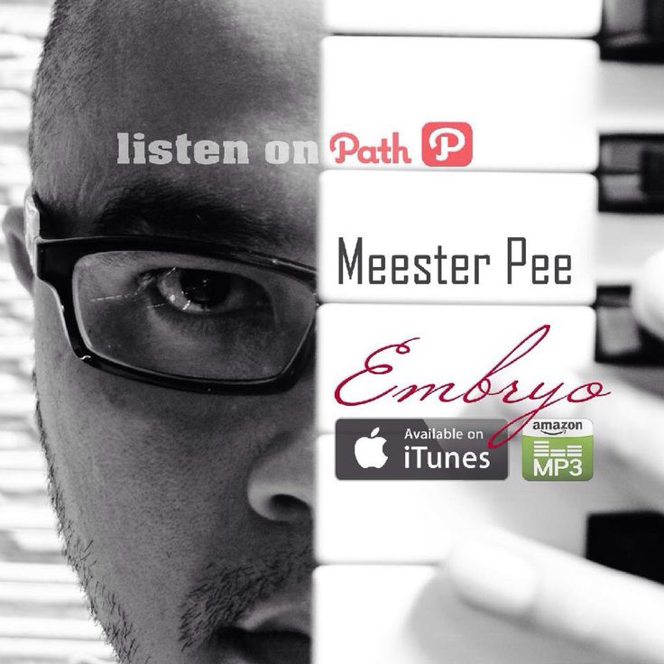 OUT NOW! MEESTER PEE   EMBRYO is available on iTunes http://goo.gl/YiMZbU, Amazon http://goo.gl/Atgu8s and other official stores   Get your day poppin' with this album. Emotive dance music hybrids of electronic dance music, techno, pop, ethnic, even jazz. All bounce tracks are fun, worthy of front-to-back. Great Album ! .  Listen to this album preview on audio lab official website http://goo.gl/fEjUxp  Subscribe on Youtube http://goo.gl/hN37Vj