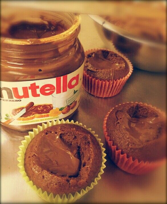 #Nutella #Cupcakes #Ambrosia
