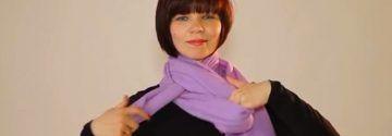 Tragen Sie in dieser Kälte einen Schal? Diese Frau zeigt 20 verschiedene Arten, wie man einen Schal tragen kann!
