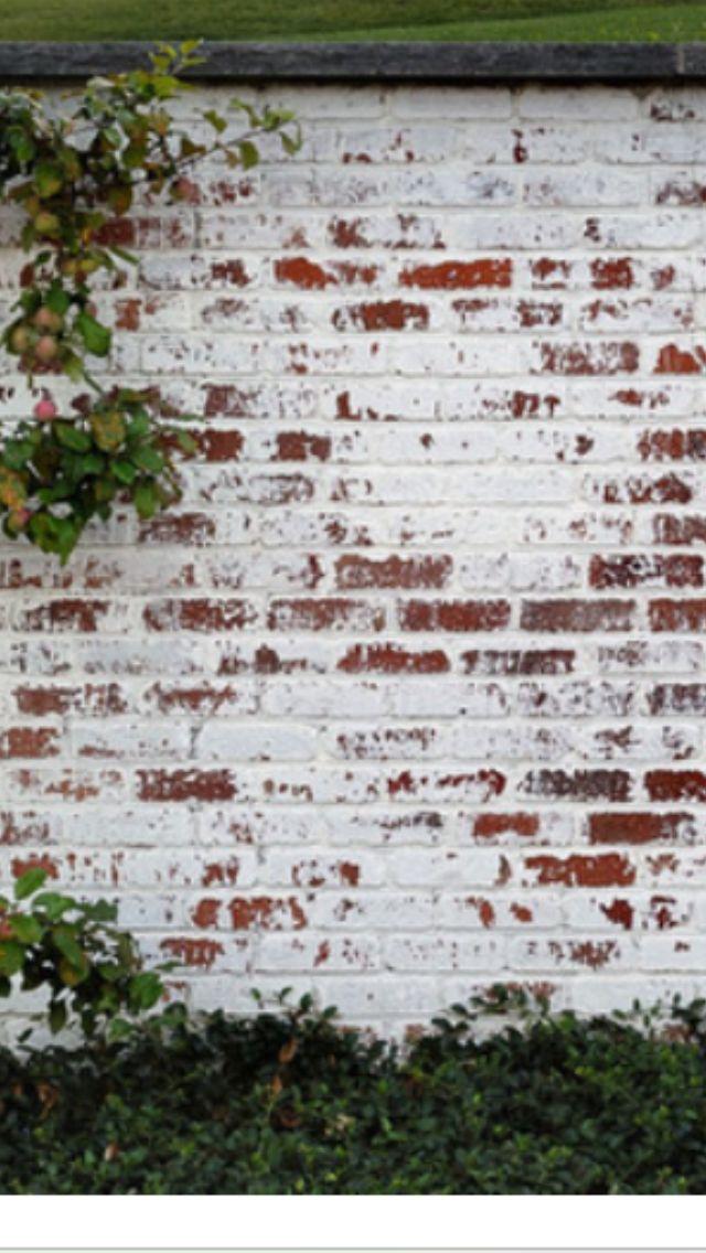Best 20 german smear technique ideas on pinterest - How to whitewash brick house exterior ...