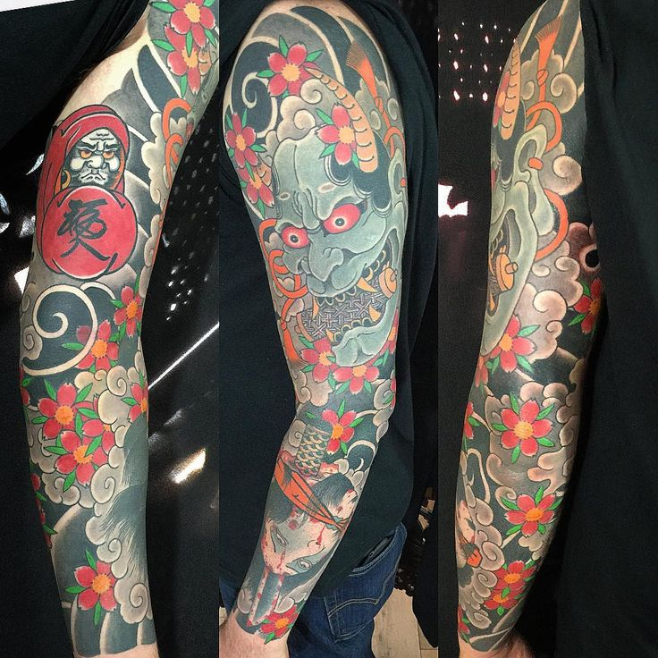 50 Spiritual Traditional Japanese Style Tattoo - Meanings and Designs