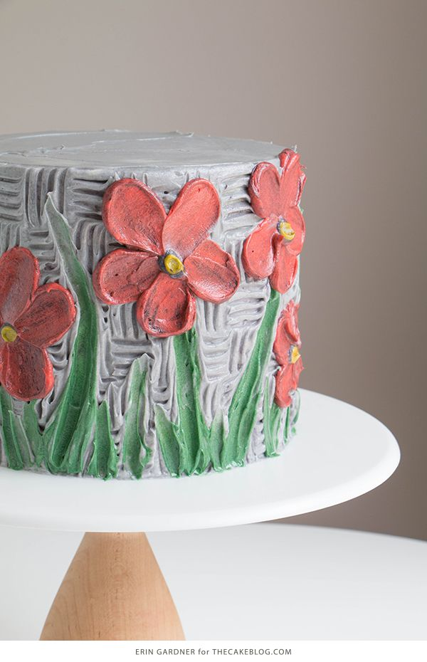 Buttercream Palette Knife Painted Cake | Birthday Cakes ...