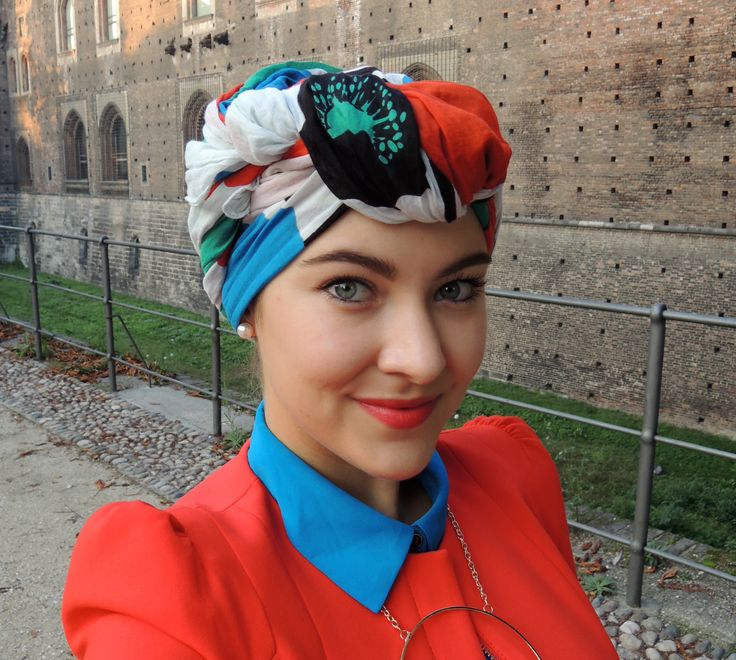 Some of my recent turban variations | October 13 | Milano