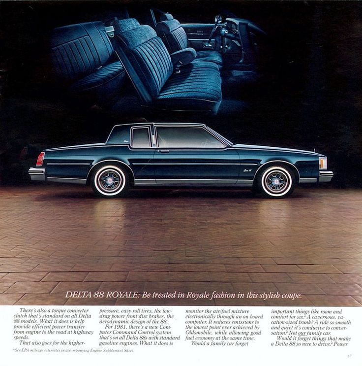 1981 Oldsmobile Delta 88 Royale Brougham Coupe