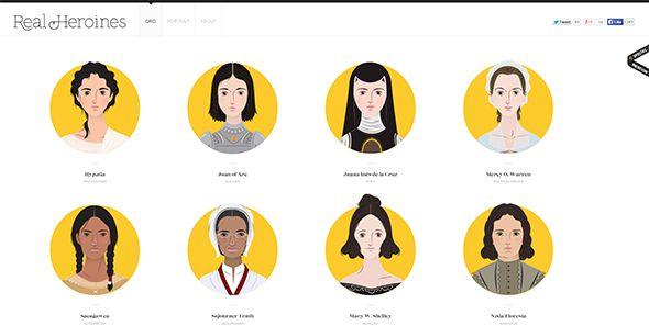 Плоские иллюстрации в веб-дизайне