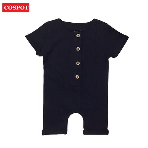 4203a96752a8 COSPOT Baby Boys Summer Short Rompers Boy Cotton Jumper Kids Fashion ...