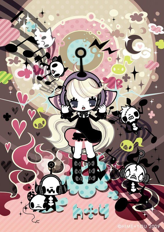 Psychedelic Cute: HIME+YOU