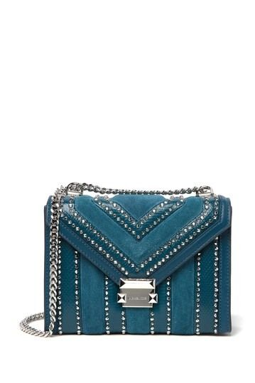 4ee0382a62d Whitney Studded   Reptile Embossed Leather Shoulder Bag by MICHAEL Michael  Kors on  nordstrom rack