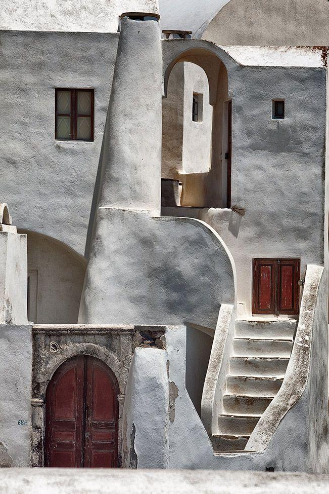 A Private Home inSantorini | Love Greek Architecture