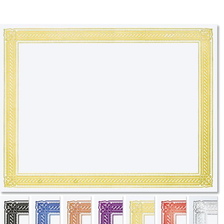Elite Specialty Certificates | Paper Direct