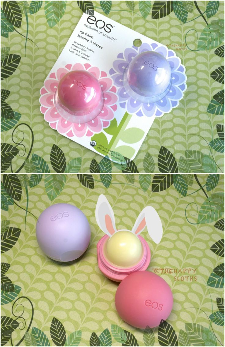 Easter Basket Ideas: EOS Smooth Sphere 2014 Spring Collection Lip Balms: Review