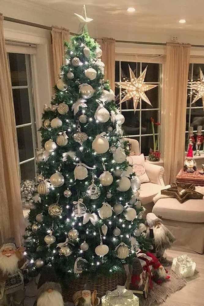 45 Awesome Christmas Tree Decorating Ideas Holiday Decor Christmas Tree Decorations Decor