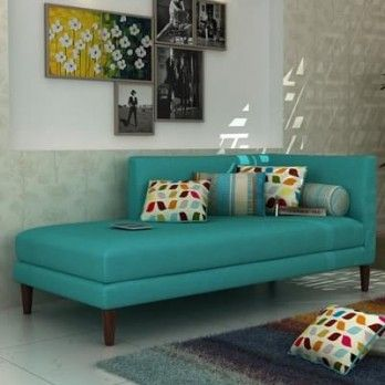 The Corvette Chaise Lounge in Cyan with corner support allows one to sit comfortably. Buy chaise lounge online in partly sofa style and create amazing space for casual talks. Get chaise lounge online #Indore #Pune #Jaipur #NewDelhi