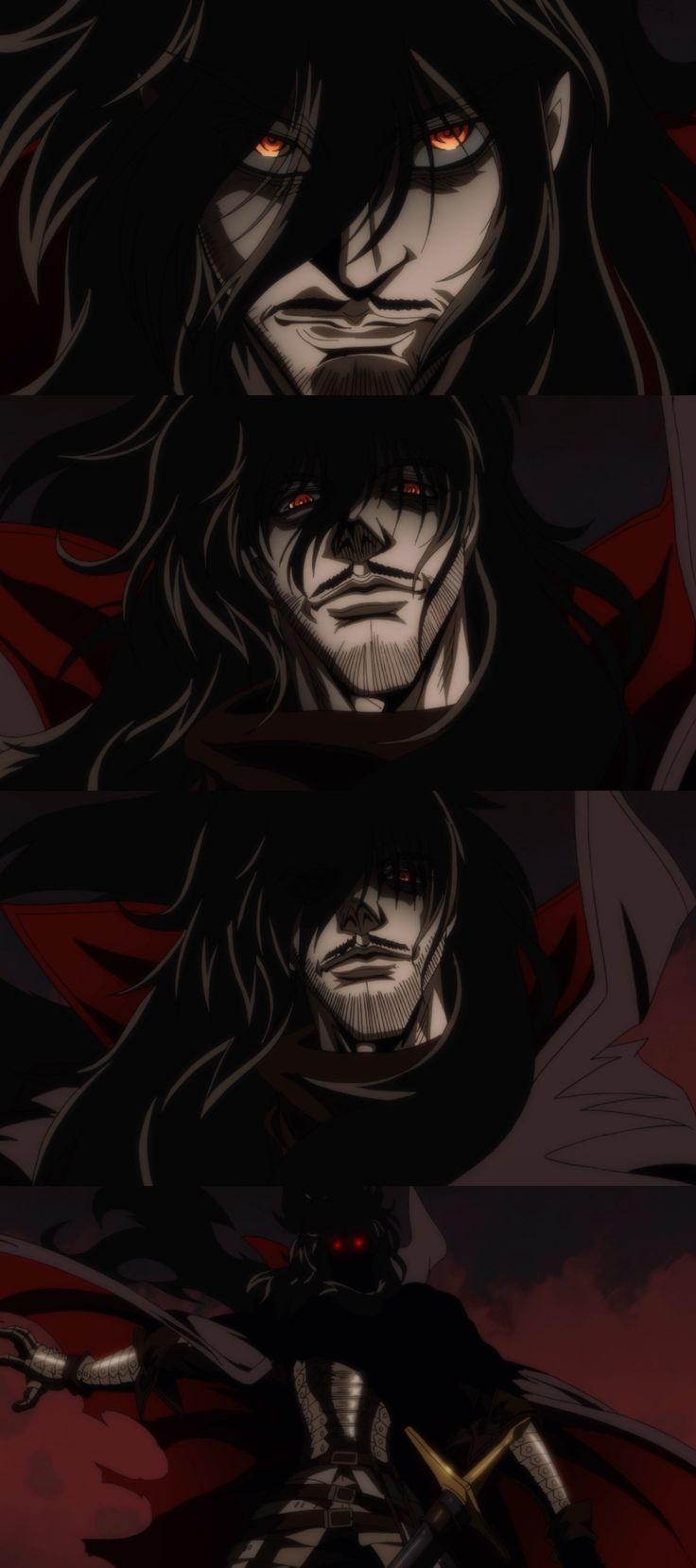 whooooooa wait...what?! WHEN DID HE...mustache and beaaaarrrddddd #alucard