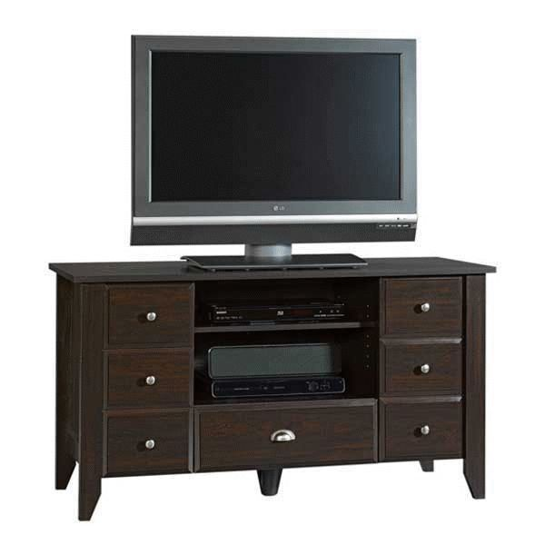 Shoal Creek HDTV Console by Sauder Woodworking is now available at American Furniture Warehouse. Shop our great selection and save!